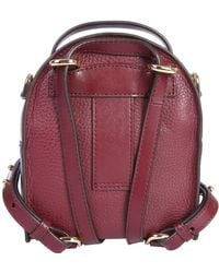 MICHAEL Michael Kors Mini Jessa Leather Backpack - Multicolour