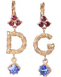 Dolce & Gabbana Jewel D&g Earrings - Metallic