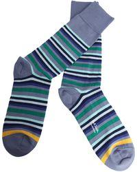 Paul Smith - Men's M1a380aak71237 Blue Cotton Socks - Lyst