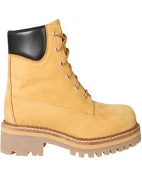 Moschino Other Materials Ankle Boots - Natural
