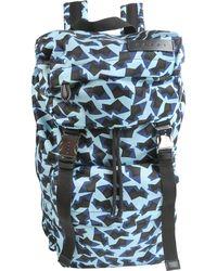 Marni Geometric Printed Backpack - Blue