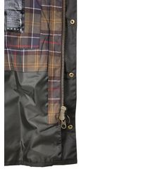 """Barbour GIACCA """"ASHBY"""" IN COTONE CERATO - Verde"""