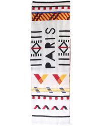 KENZO Scarf With Logo - Multicolor