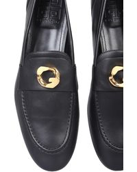Givenchy MOCASSINO IN PELLE G CHAIN - Nero