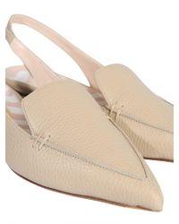 Nicholas Kirkwood Beya Leather Sandals - Natural