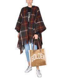 "Golden Goose ""davie"" Poncho - Multicolour"