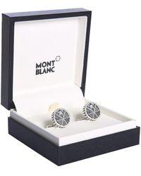 Montblanc Inlet Steel Cufflinks - Grey