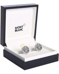 Montblanc - Inlet Steel Cufflinks - Lyst