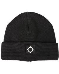 "MA.STRUM - ""milano"" Cotton Knit Hat - Lyst"