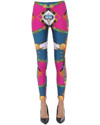 Versace Printed leggings - Multicolor