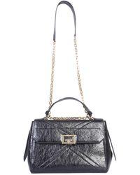 Givenchy - Medium Cracked Leather Id Bag - Lyst