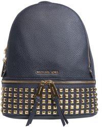 MICHAEL Michael Kors - Rhea Medium Studded Leather Backpack - Lyst