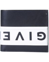 Givenchy Leather Billfold Wallet - Black