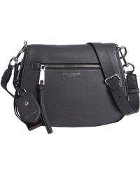 Marc Jacobs - Nomad Saddle Bag In Textured Leather - Lyst