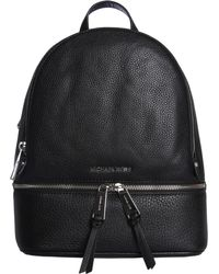 c9918f972be1 MICHAEL Michael Kors - Medium Rhea Zip Backpack In Bottled Leather - Lyst