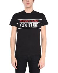 Versace Jeans Couture Other Materials T-shirt - Black