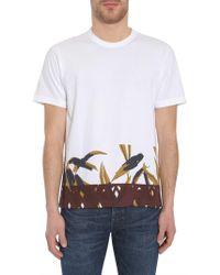 Marni - Swash Print Cotton Jersey T-shirt - Lyst
