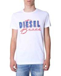 DIESEL T-diego-c2 T-shirt - White