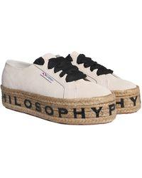Philosophy Di Lorenzo Serafini Sneakers Philosophy avorio - Bianco
