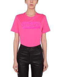 Versace Other Materials T-shirt - Pink