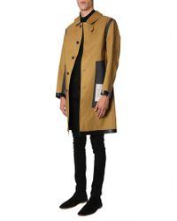 Mackintosh Insideout Rubber Coat - Brown