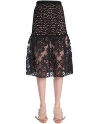 N°21 - Midi Lace Skirt - Lyst