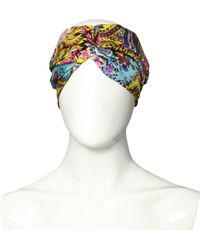 Etro Silk Print Turban - Multicolour