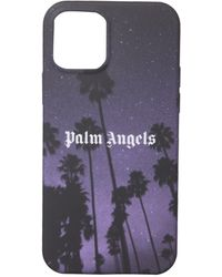 Palm Angels Cover Iphone 12/ 12 Pro - Black