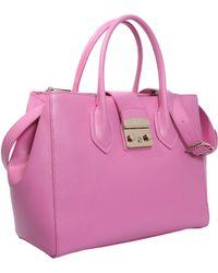 Furla - Large Metropolis Leather Bag - Lyst