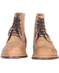 Red Wing Iron Ranger Leather Lace-up Boots - Brown