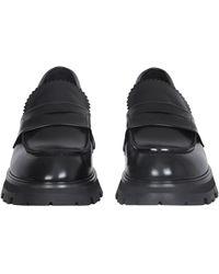 Alexander McQueen Worker Loafers - Black