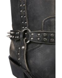 Ash Camperos Nelson In Nappa - Black