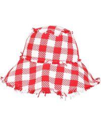Philosophy Di Lorenzo Serafini Macro Vichy Hat - Red