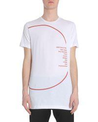 Diesel Black Gold Ty-circle T-shirt - White