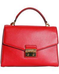 MICHAEL Michael Kors - Sloan Large Leather Messenger Bag - Lyst