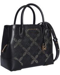MICHAEL Michael Kors Mercer Gallery Bag In Leather - Black