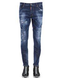 DSquared² - Jeans Ski Con Staffe In Denim Stretch - Lyst