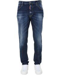 """DSquared² """"sexy Mercury"""" Cotton Denim Jeans - Blue"""