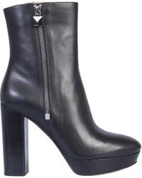 "MICHAEL Michael Kors - ""frenchie"" Boot With Plateau - Lyst"