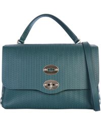 Zanellato Small Cashmere Blandine Postina Bag - Green