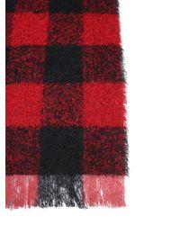 Woolrich - Bouclè Tartan Virgin Wool Scarf - Lyst