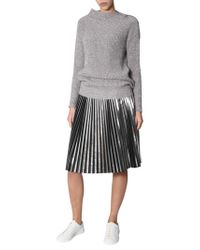 Fabiana Filippi - Viscose Laminated Sweater - Lyst