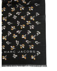 Marc Jacobs - Sciarpa Geo Flowers In Misto Viscosa - Lyst