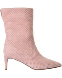 """RED V """"softies"""" Ankle Boots - Pink"""
