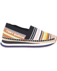 Tory Burch - Slip-on Daisy Trainers In Technical Fabric - Lyst