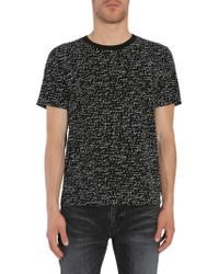 3ac00266 Lyst - ASOS Plus Longline T-shirt With Je T'aime Print in Black for Men