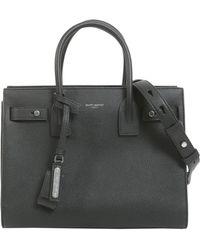 Saint Laurent | Baby Sac De Jour Souple Bag In Grained Leather | Lyst