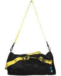 Off-White c/o Virgil Abloh Nylon Bag With Logo - Black