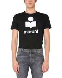 "Isabel Marant ""karman"" T-shirt With Logo - Black"