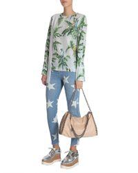 Stella McCartney | Birds Of Paradise Printed Clare Silk Blouse | Lyst